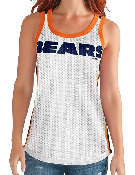Amazon.com   Chicago Bears Women s G-III NFL Opening Kick Jersey ... e640eede2