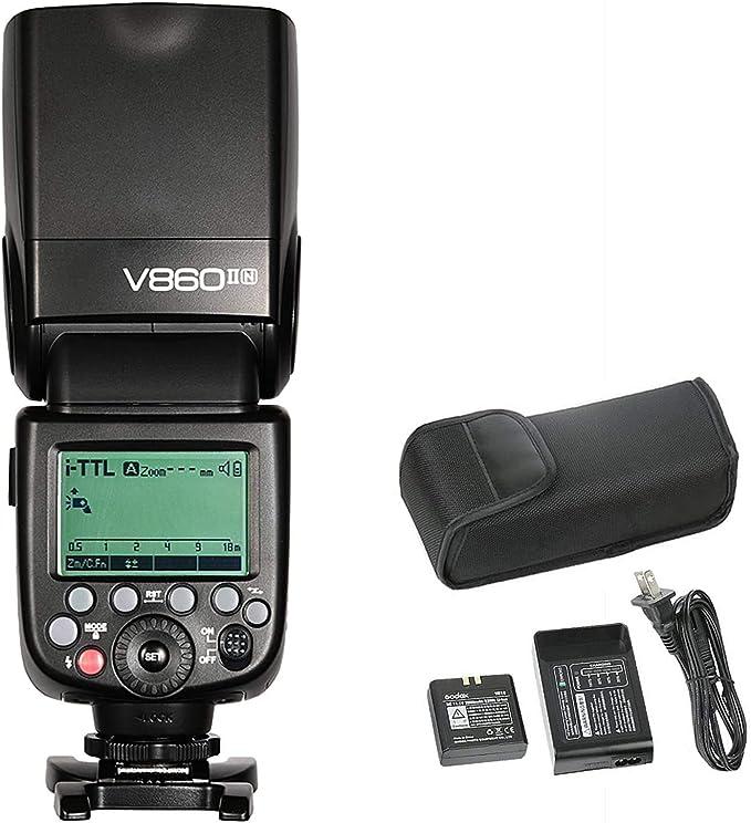 Godox V860ii N Kit Blitz Speedlite Für Nikon Kamera