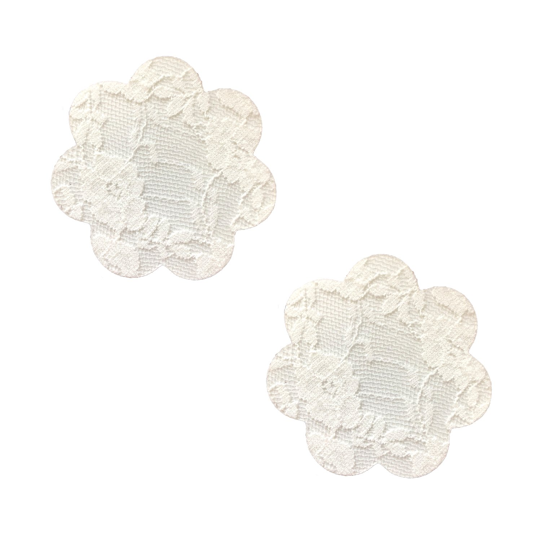 Neva Nude Off White Lace Petal Nipztix Pasties Nipple Covers