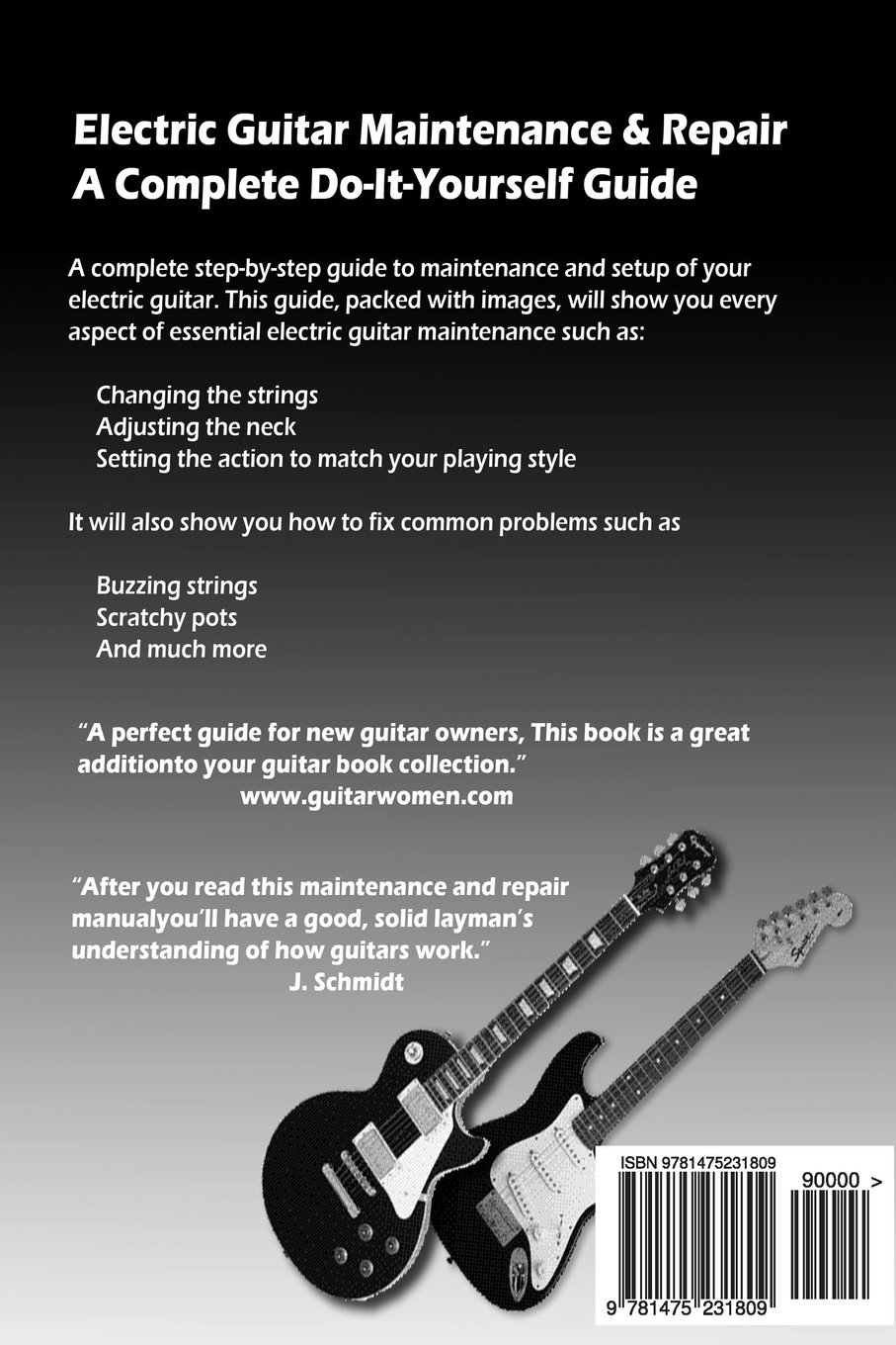 Electric Guitar Maintenance and Repair: A Complete Do-It-Yourself ...