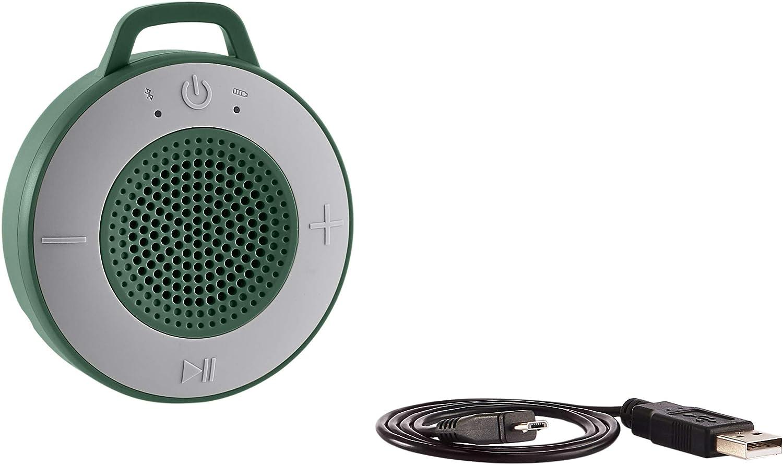 AmazonBasics - Altavoz inalámbrico para ducha, incluye ventosa y ...