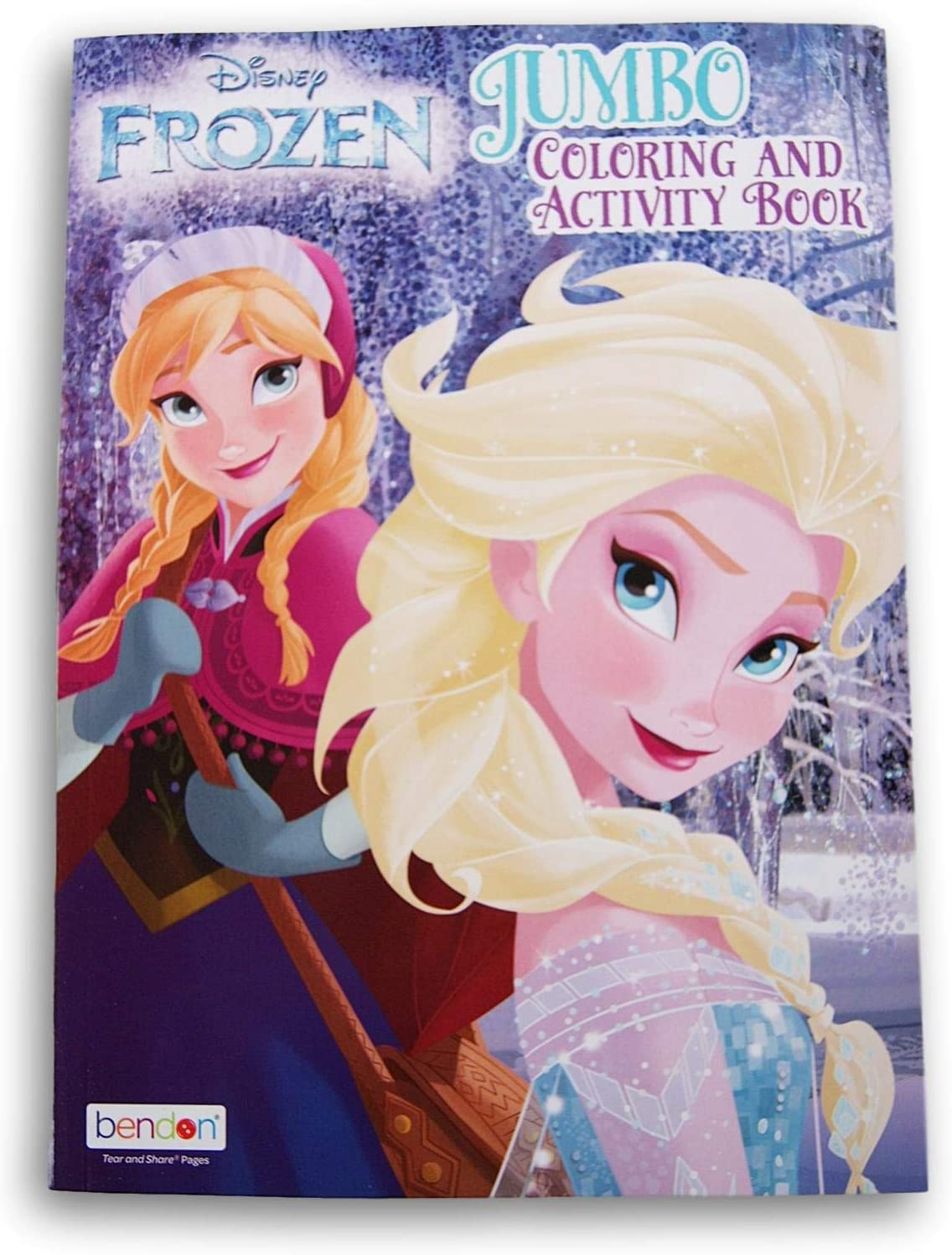 elsa and anna coloring and activity book 96 pages