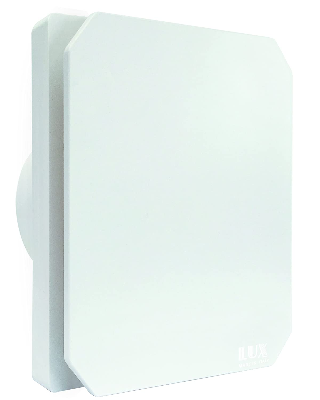 aspiratore da parete d 80mm ad aspirazione assiale lux 301
