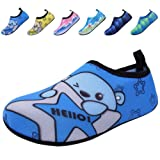 Amazon Price History for:BODATU Boys' Girls' Swim Water Shoes Kids Quick Dry Barefoot Aqua Sock Shoes for Beach Pool