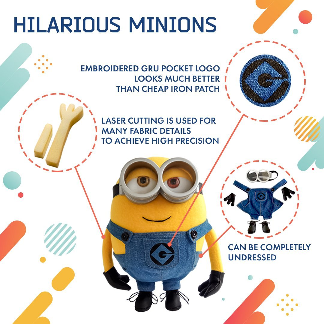 Amazon Jerry Minion Soft Toy Despicable Me Minion Doll Unique