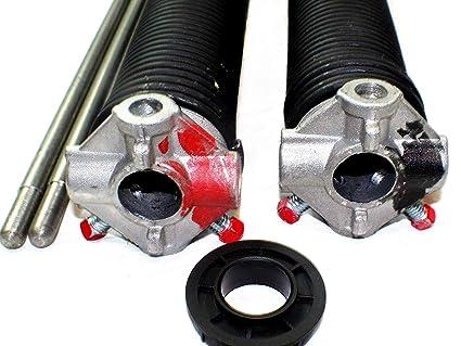 How to lubricate garage door torsion spring