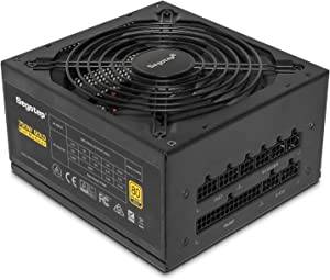 Segotep 750W Fully-Modular Gaming Power Supply 80 Plus Gold Certified PSU with Silent 140mm Fan