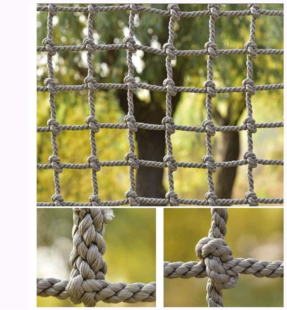 TorchJPA Outdoor Quality Decorative Protective Net Nylon Anti Falling Net Cargo Anti Falling Net Enclosure Of Outdoor Football Field Kindergarten Staircase Protection Color Netting Bird Net Multi Purp