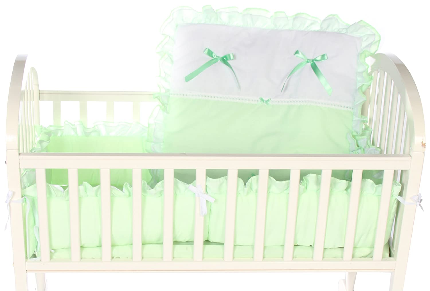 Blue Baby Doll Bedding Regal Cradle Bedding Set