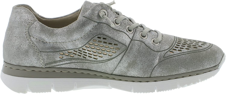 Rieker M5228 Damen Halbschuhe, Sneaker, Schnürer, sportliche c9Qux