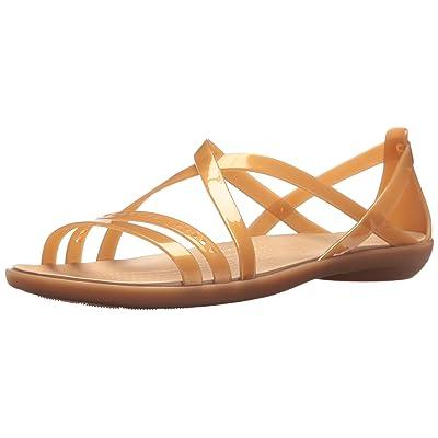 Crocs Women's Isabella Cut Strappy Sandal   Flats