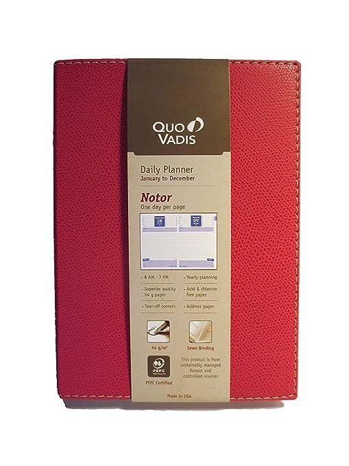 Quo Vadis Club Notor Rose 2019 Planner