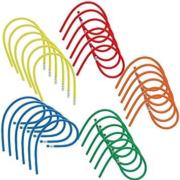 MIRVEN Lote 30 Lápices Flexibles de Colores Variados para Niños. Ideal para Regalos Infantiles, Invitados de Fiestas de Cumpleaños. con Goma de ...