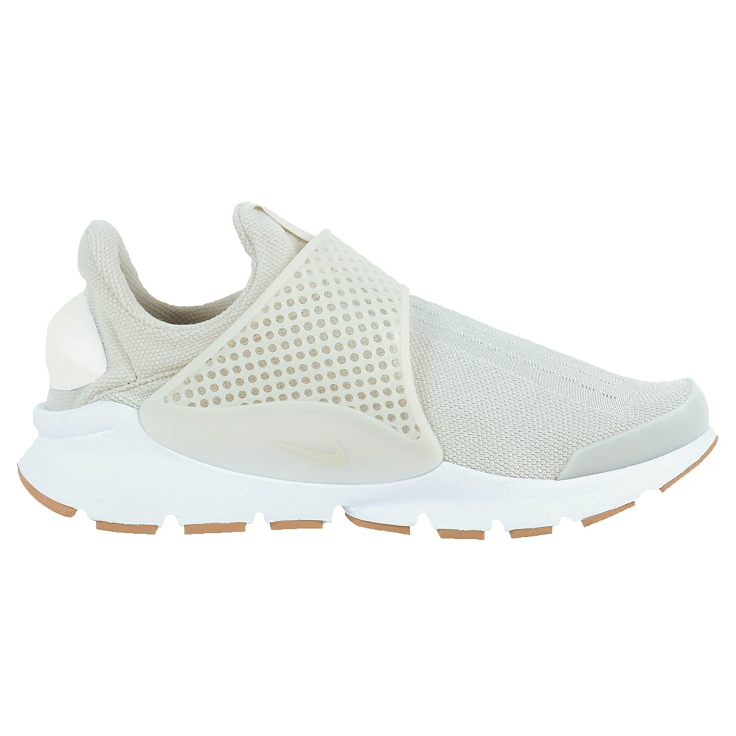 cheap for discount 1b9f0 59386 Amazon.com   NIKE WOMENS SOCK DART CASUAL RUNNING SHOES LIGHT BONE SAIL  WHITE 848475 002   Road Running