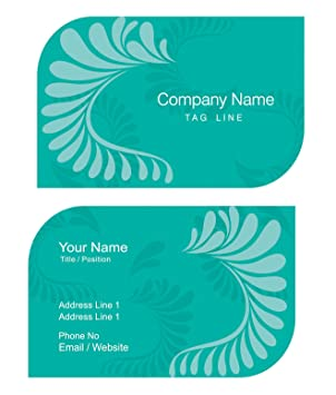 Design Your Own Unique Personalised Business Cards Custom