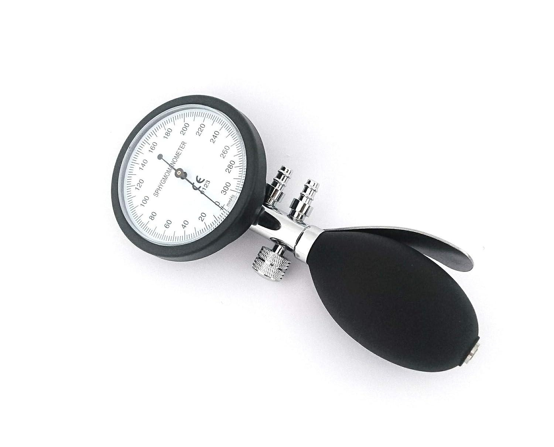 Esfigmomanómetro Tensiómetro Analógico Manual de Brazo + Grabado (Negro/Rojo): Amazon.es: Salud y cuidado personal