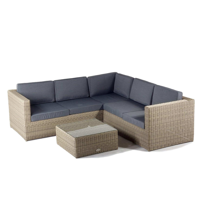 Oseasons Rattan Hampton Luxury Sofa Set Amazon Garden