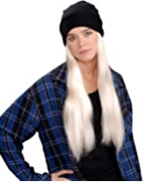 Grunge Cuffed Scully Hat and Wig Costume Accessory