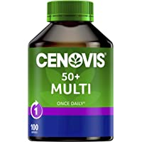 Cenovis 50+ Multi Vitamins & Minerals, Once Daily - 100 Capsules