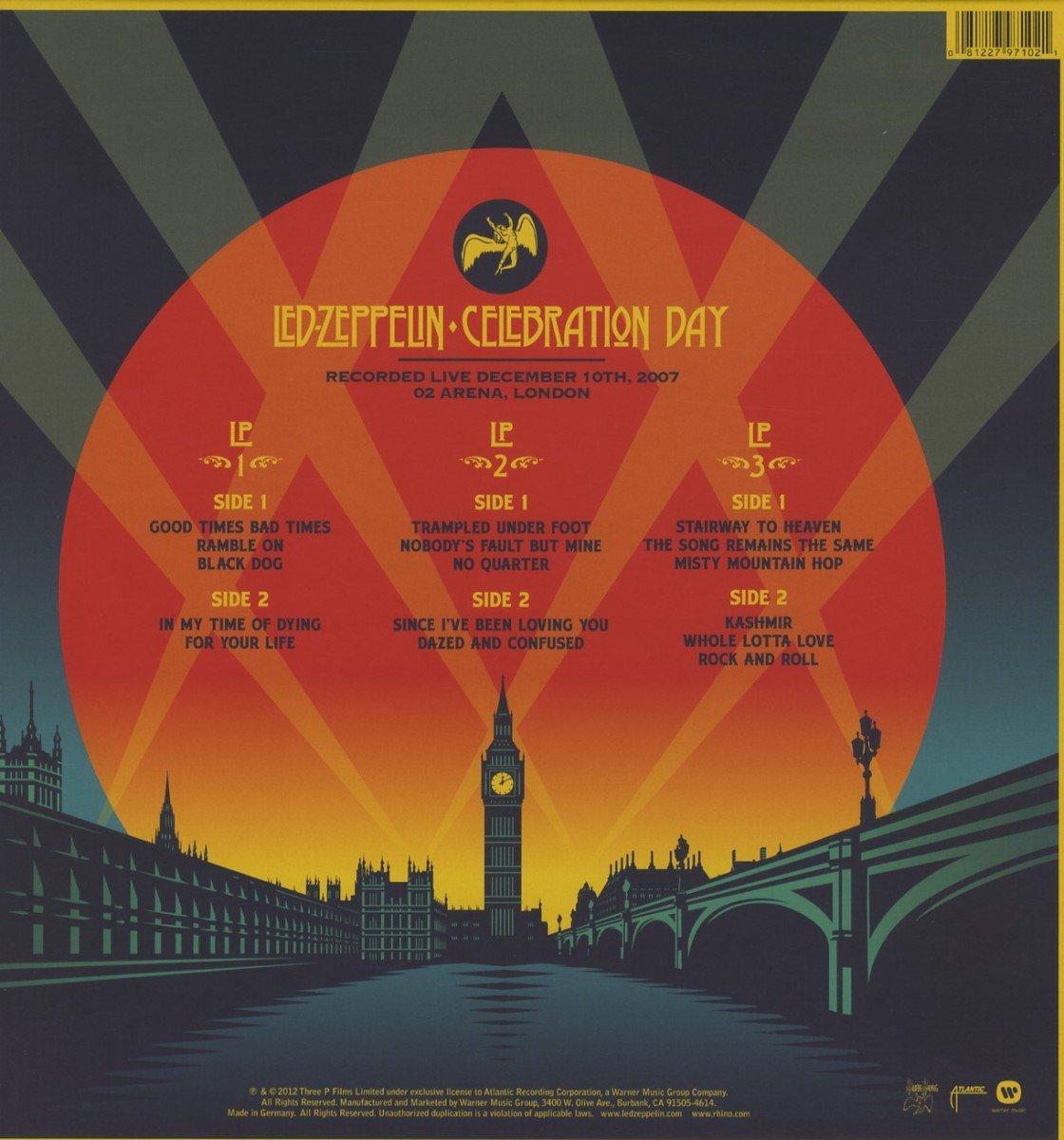 Amazon   Celebration Day (3 LP...