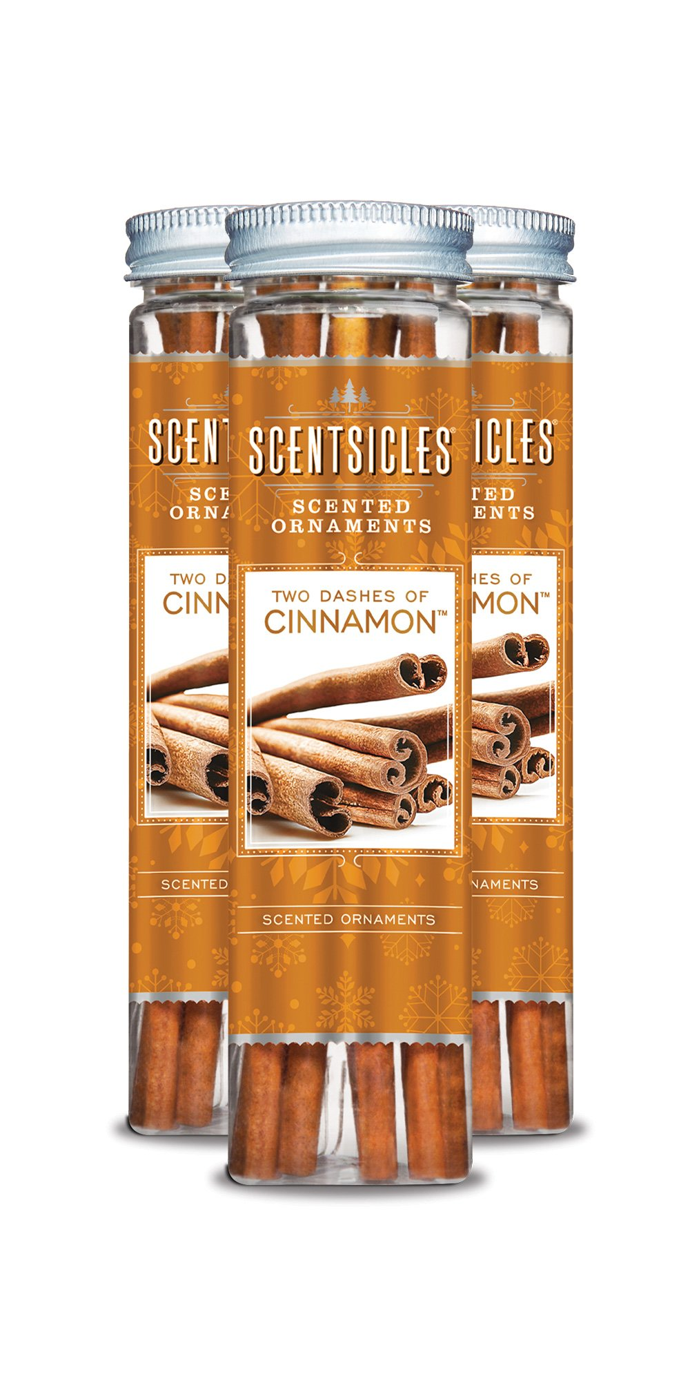 Scentsicles 6 Piece Two Dashes of Cinnamon Bottle, 3 Bottles Per Pack