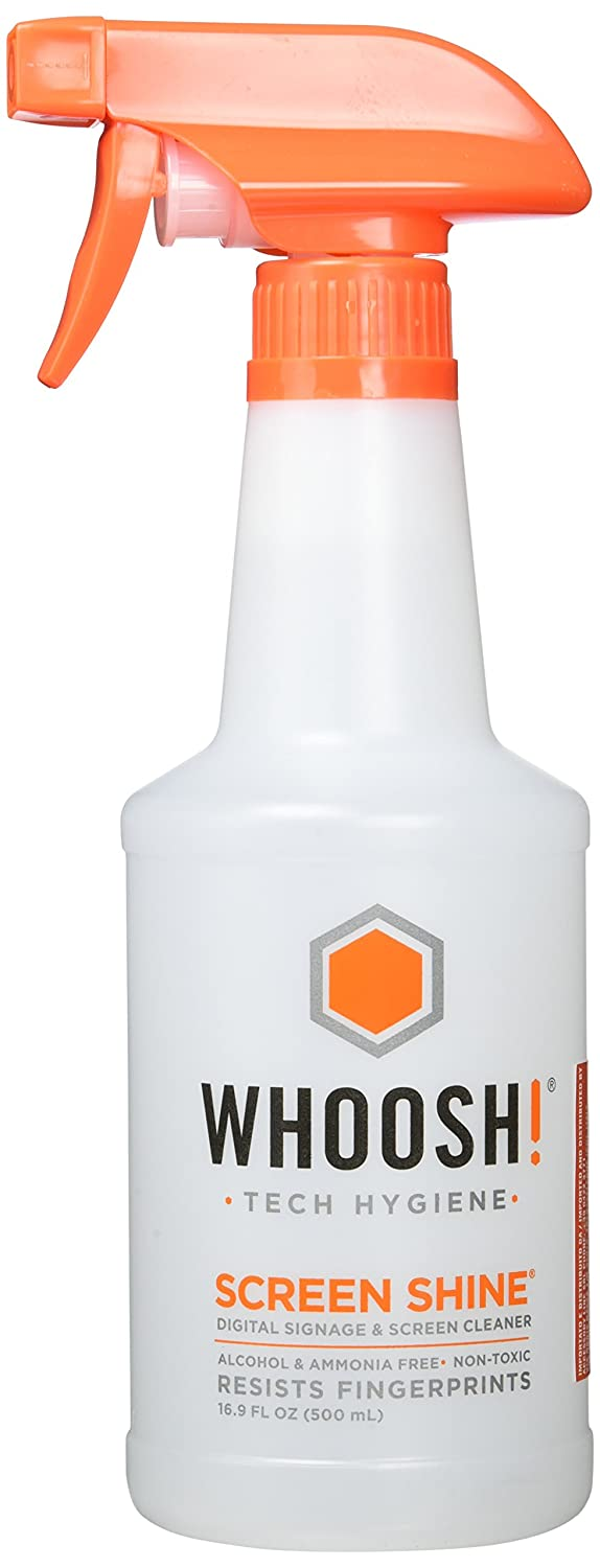 Whoosh, Award Wining Screen Cleaner Safe for all screens Smartphones, iPads, Eyeglasses, Kindle, Touchscreen and TVs WHOOSH! Inc 31500MLSSC