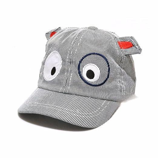 06db5c95d42510 Amazon.com: Tloowy Clearance! Toddler Infant Baby Boy Girl Cartoon Dog Sun  Hat Baseball Cap Beret Hat Summer Sun Protection Hat (Black): Clothing