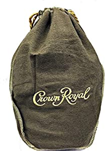 Crown Royal Bag with Drawstring | Tan - Vanilla
