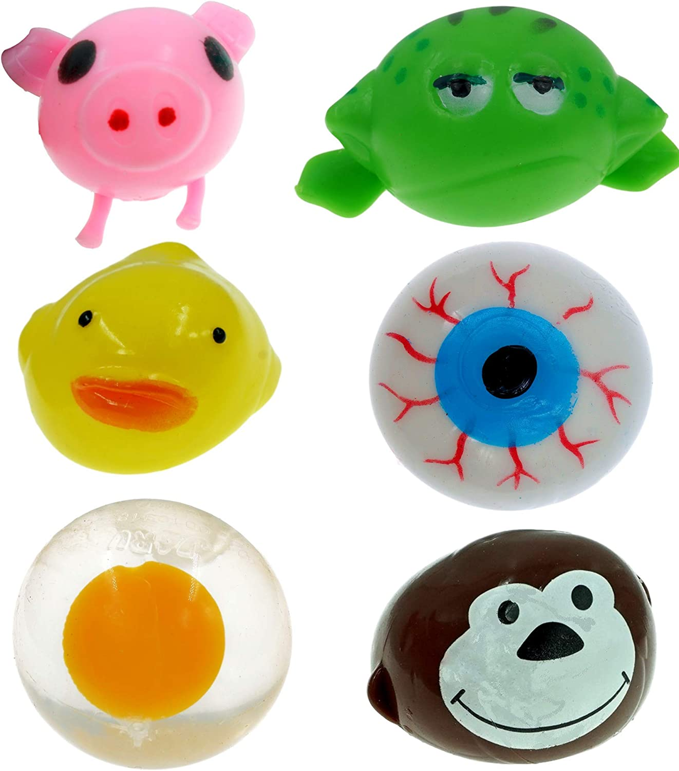 SPLAT BALL DUCK SQUISHY SPLATS TOY STRESS RELIEVER GOODY BAG  FAST FREE SHIPPING