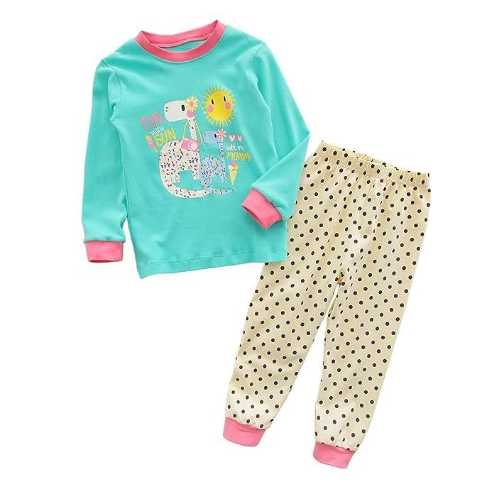 Amazon.com: Conjunto de ropa de pijamas de algodón para ...