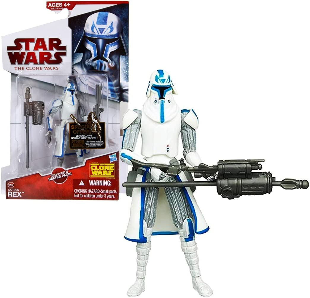 STAR WARS THE CLONE WARS CAPTAIN REX CW50