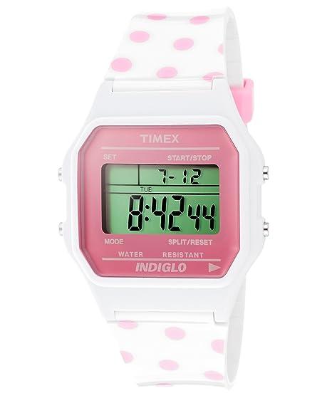 5102adb470d9 Timex T80 Classic t2 N381 - Reloj de Pulsera Unisex  Amazon.es  Relojes