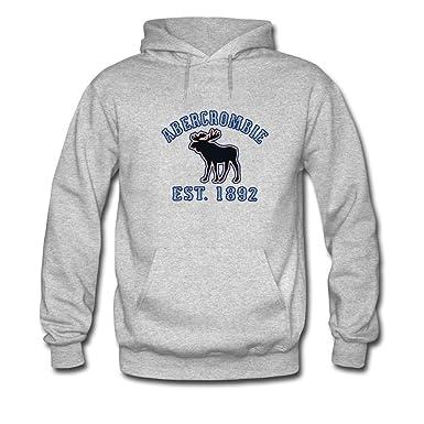 Abercrombie & Fitch Hoodies Sudadera con Capucha - Para Hombre Gris Gris X-Large