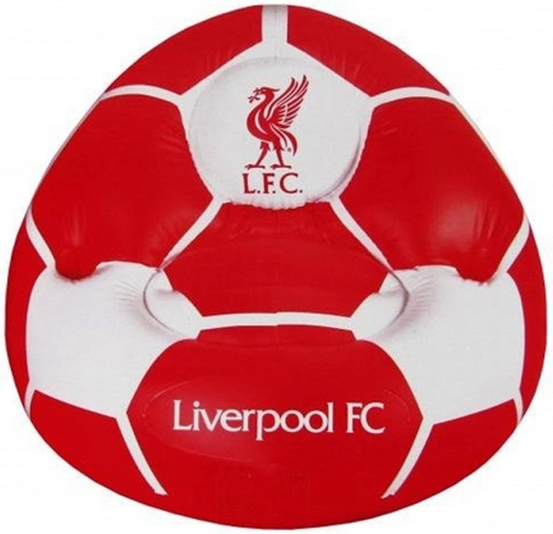 Liverpool Fc Offizieller Fußball Aufblasbarer Stuhl