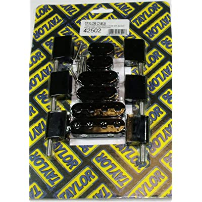 Taylor Cable 42502 Black Wire Loom Kit: Automotive