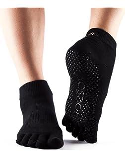 Toesox Full Toe Low Rise - Calcetines de Yoga Unisex adulto ...