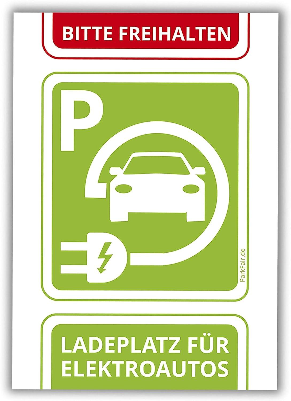 Falschparker Ladesäule Parksünderblöckchen für Fahrer von Elektroautos