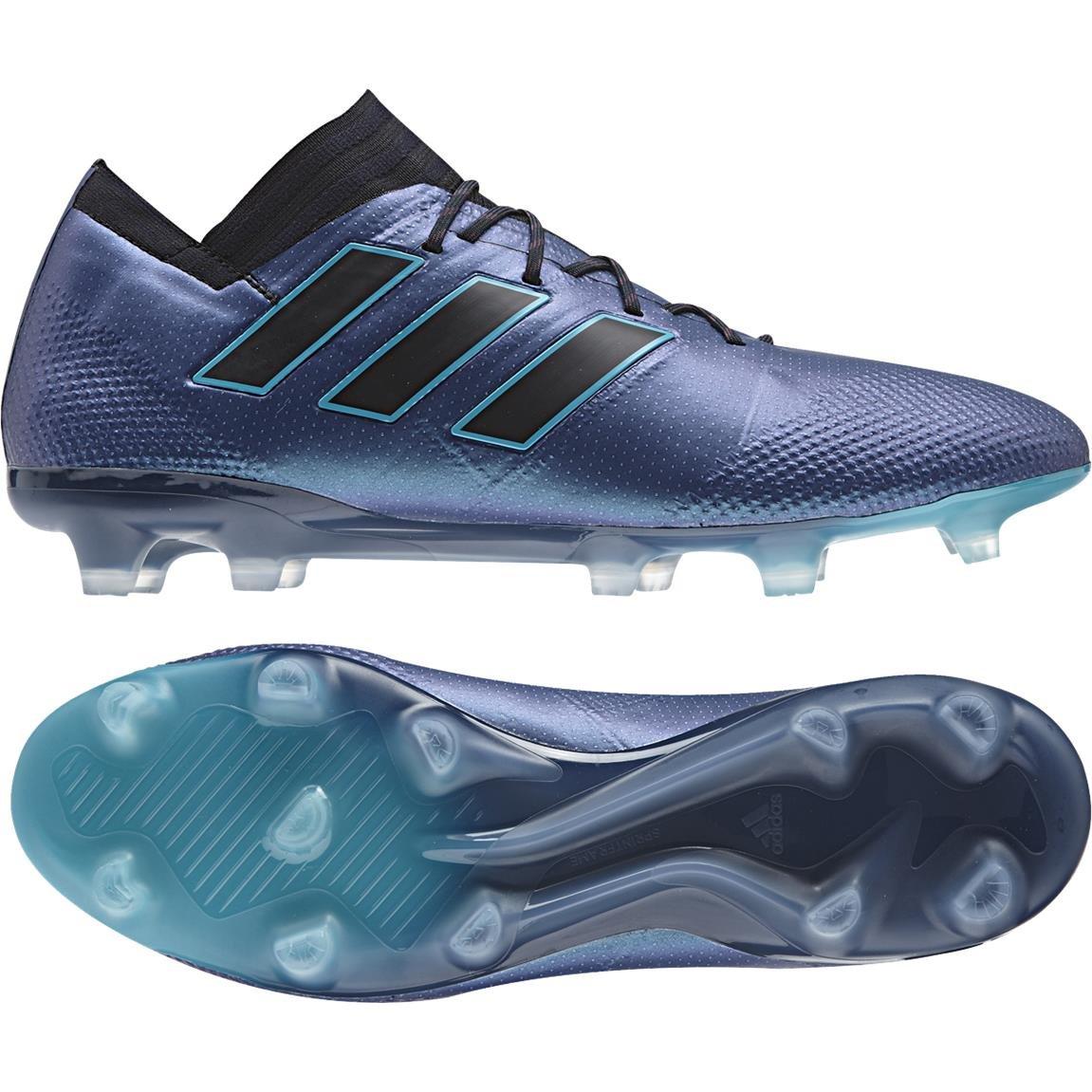 Bleu (Azuene   Negbas   Negbas 000) 40 EU Adidas Nemeziz-17.1 FG Chaussures de Football Homme