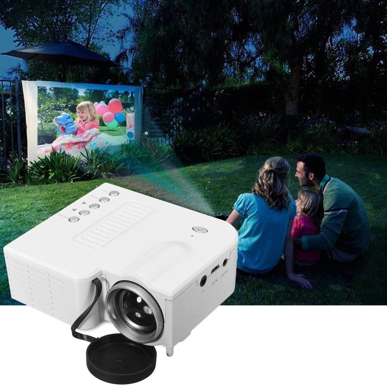 UC28B Mini proyector LED portátil 1080P Multimedia Family Cinema ...