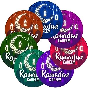 Graphic Flavour Happy Ramadan Islam Reward Sticker Labels (6