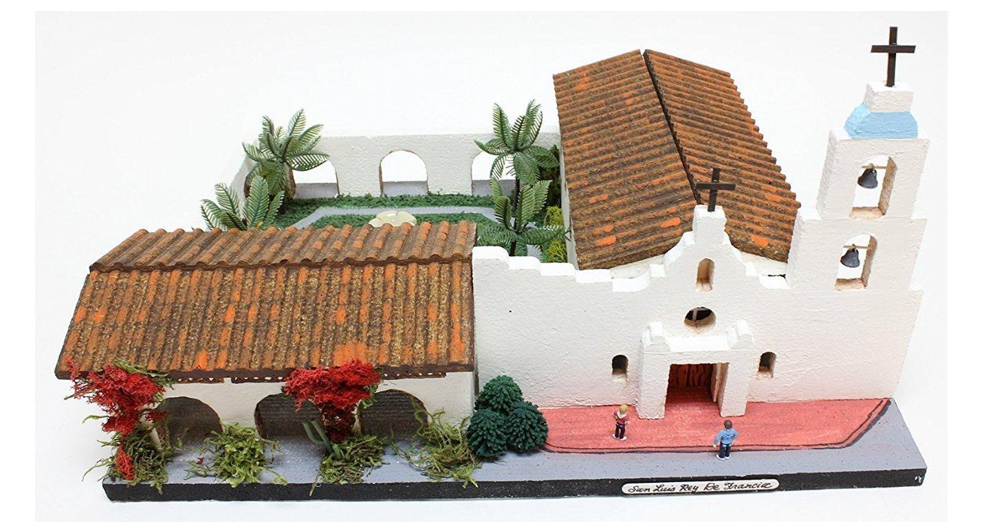 California Mission Model Kit SAN LUIS REY DE FRANCIA
