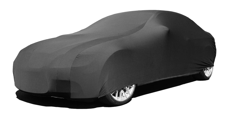 Indoor Car Cover Compatible with Alfa Romeo Giulia 2017-2019 - Black Satin - Ultra Soft Indoor Material - Guaranteed Keep Vehicle Looking Between Use - Includes Storage Bag