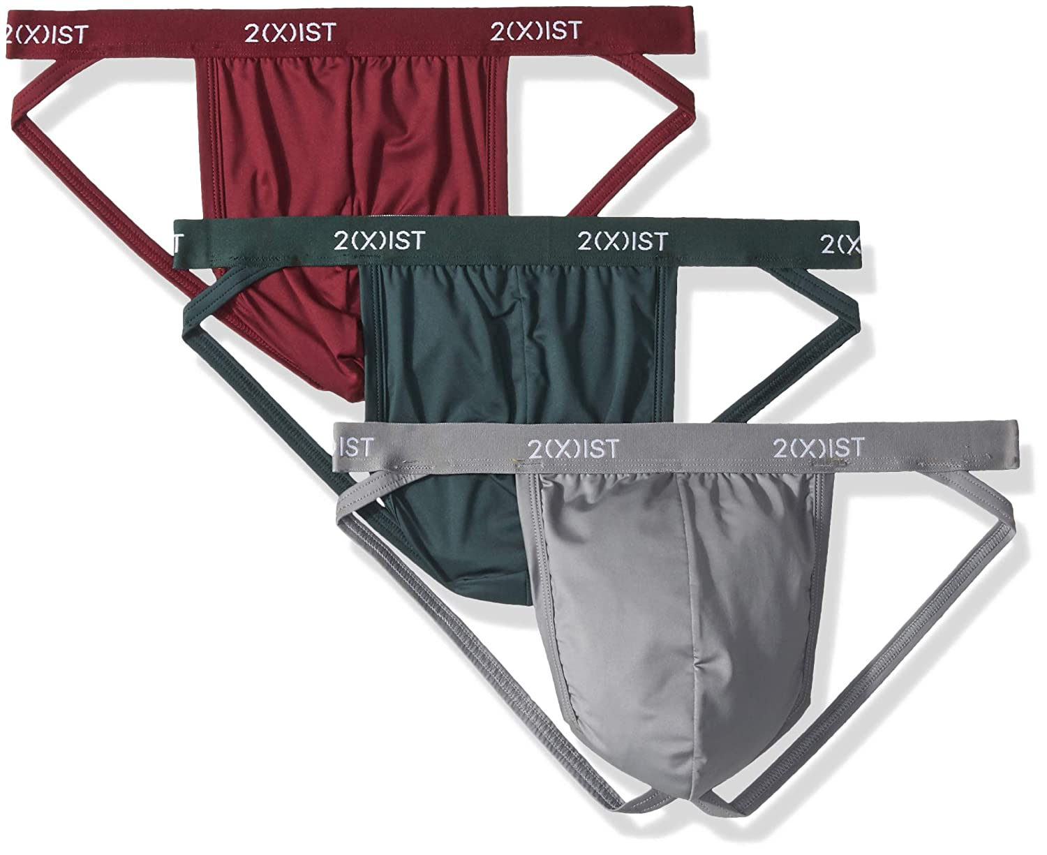 2(X) IST UNDERWEAR メンズ B07DLJ7TTL Green Gables/Sharkskin/Tawny Port Large Large|Green Gables/Sharkskin/Tawny Port