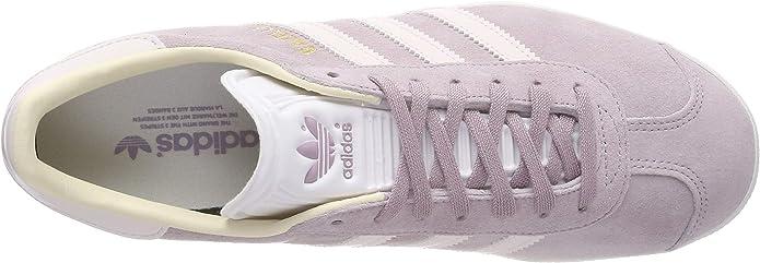 | adidas Womens Gazelle Nubuck Soft Vision Orchid
