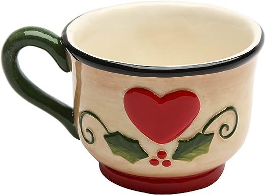 2-1//2-Inch Cosmos 10937 Gifts Ceramic Seasonal Mug Set of 4