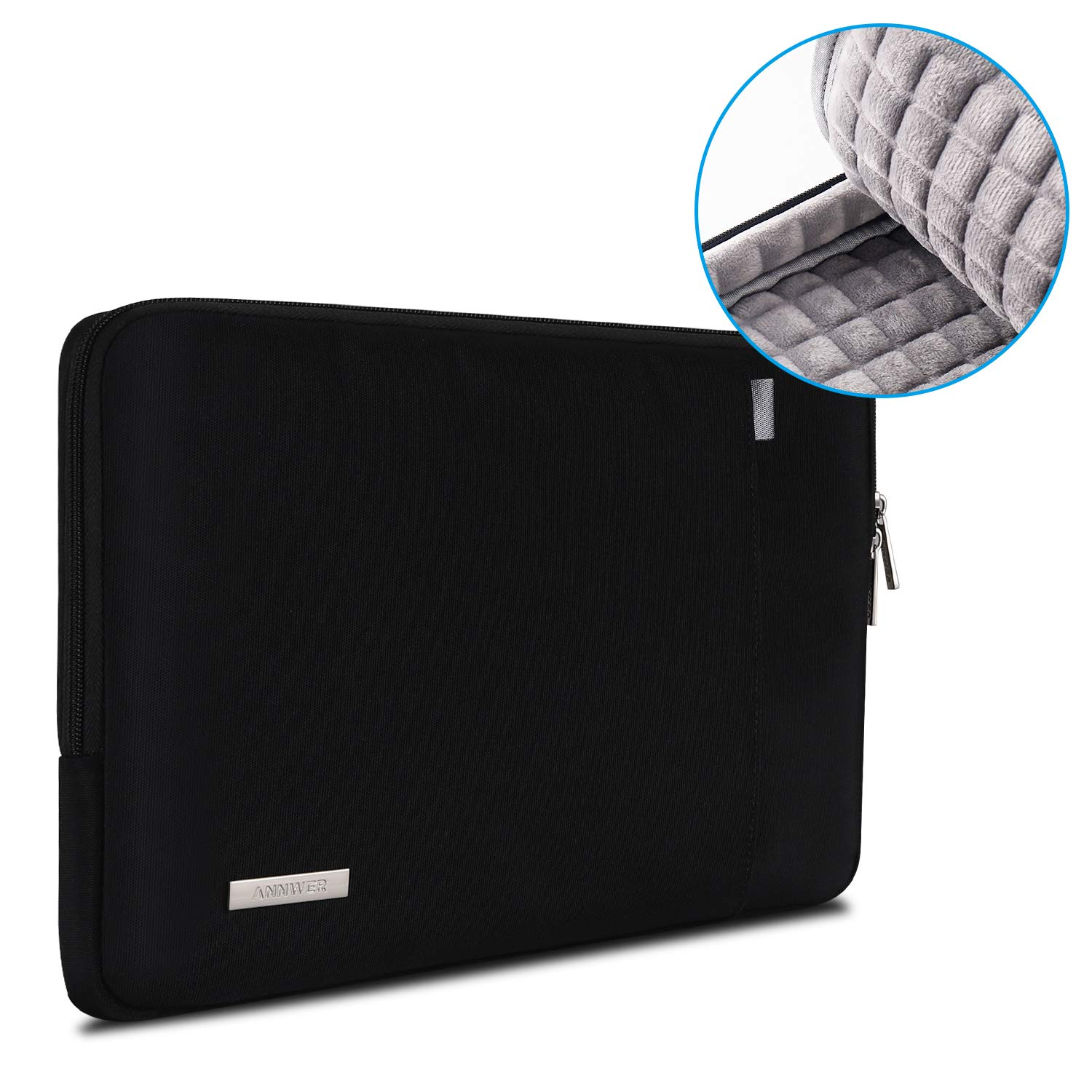 13 Inch New MacBook Pro for A2159 A1989 A1706 A1708 Annwer 360 Protective Laptop Sleeve with Accessory Pocket for 13-inch New MacBook Air with Retina Display A1932 12.9 New iPad Pro