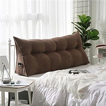 Amazon.com: AMYDREAMSTORE Cojín tapizado triangular de cuña ...