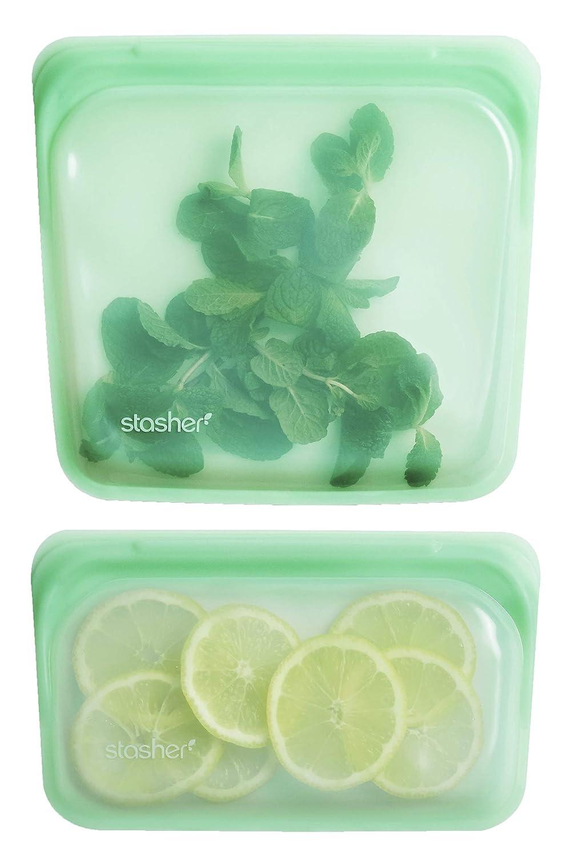 Stasher 905/915 Bolsa de Silicona Reutilizable para Cocinar ...
