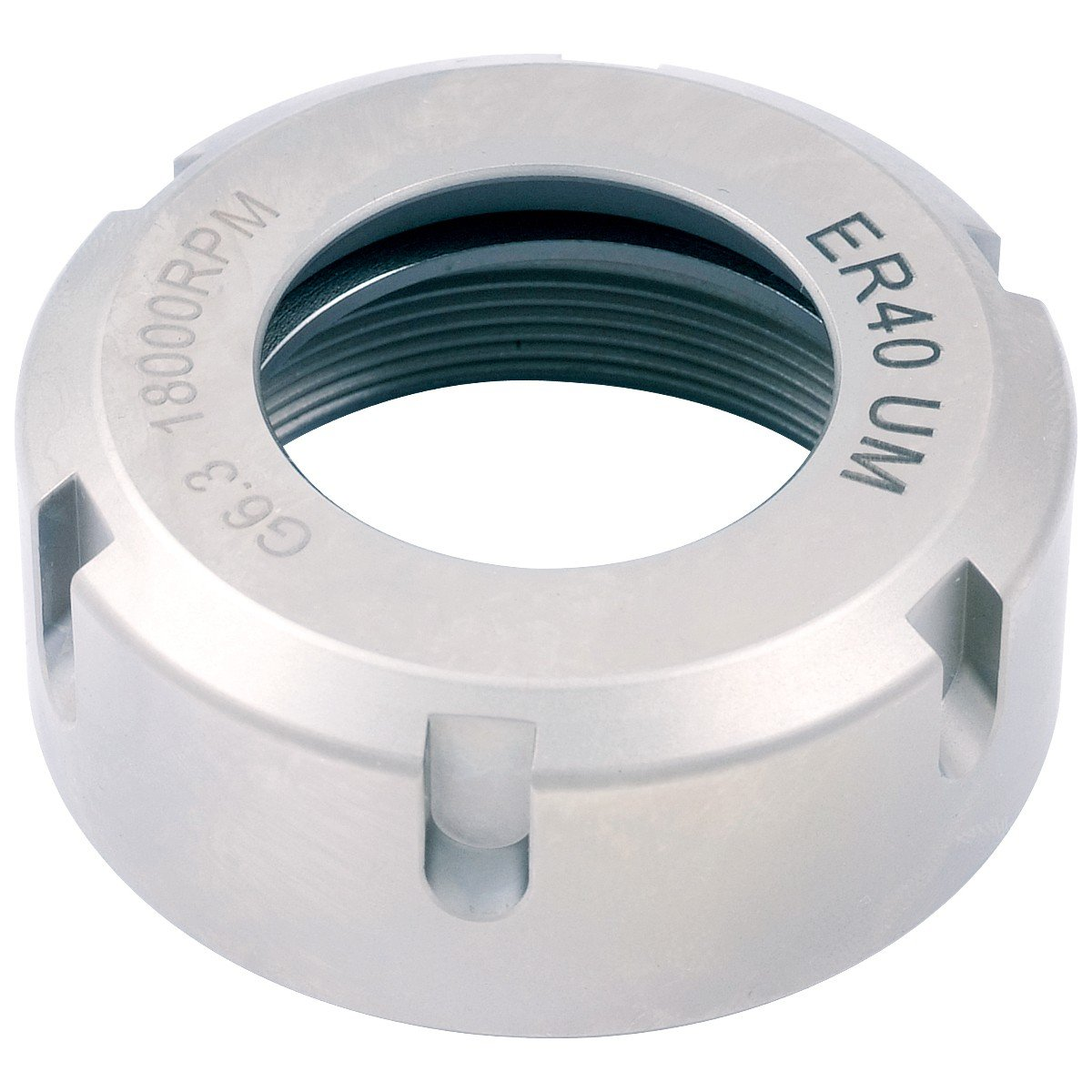 Pro Series by HHIP 3900-0690 Collet Chuck Nut, Um-Type Er25, 18000 Rpm