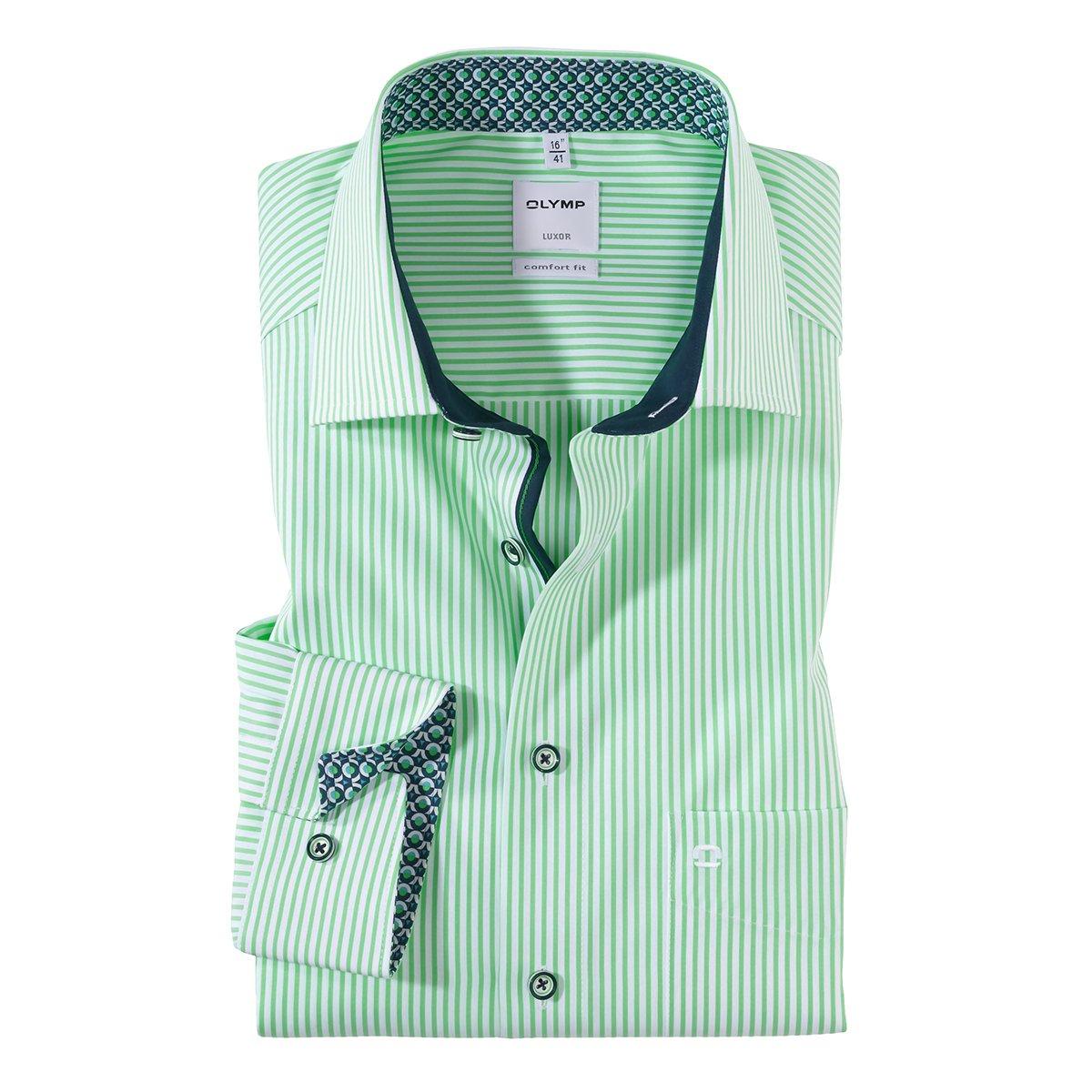 Gute Preise hohes Ansehen das Neueste hemd olymp grün